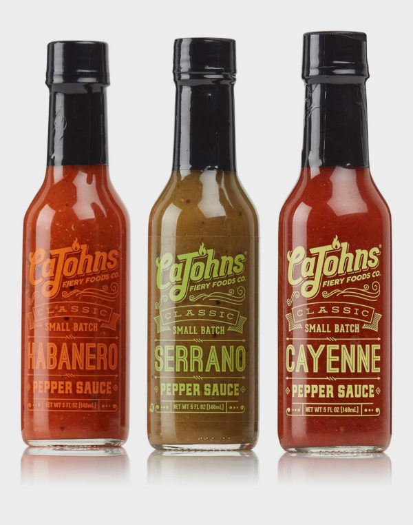 CaJohns Pack – standard - chilisauces